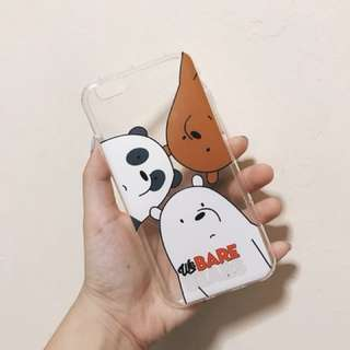 We Bare Bears iPhone 6 Casing