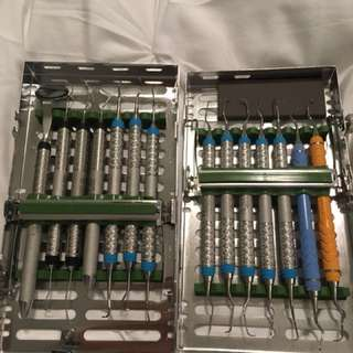 Dental hygiene instruments and puck