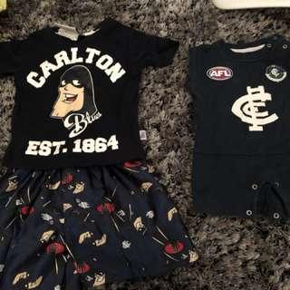 Carlton baby clothes