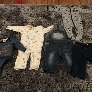 Size 00 baby clothes