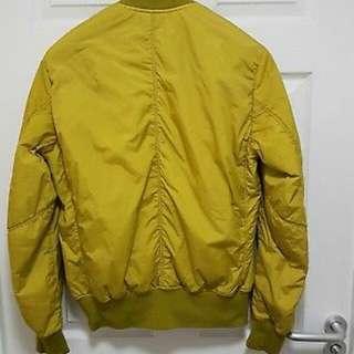 Stone Island Jacket Yellow Zip Up