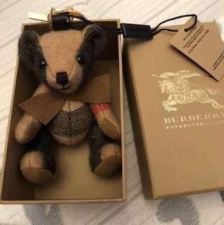 Brand new Burberry teddy key chain