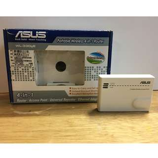 ASUS 4-in-1 Portable Wireless Router