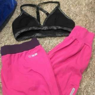 zumba fitness/sleep/comfy set! large