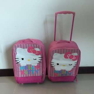 Hello Kitty Suitcase USA Toys R Us luggage carry on kids girls