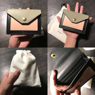 CÉLINE Card Holder/ Wallet