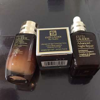 BN Estée Lauder advanced night repair synchronized recovery complex II and eye concentrate matrix