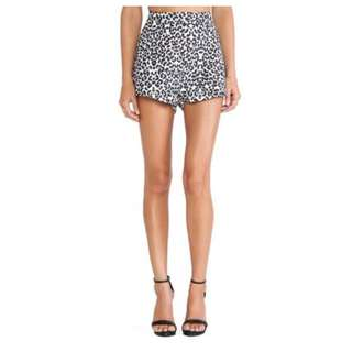 CAMEO Move On Shorts in Snow Leopard Size XS RRP $139.95