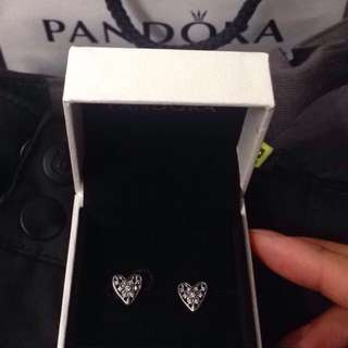 BNWT Pandora Earrings