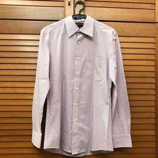 G2000 Slim Fit Purple Stripe Shirt