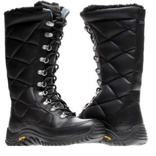UGG Black Kintla Quilted Insulated Tall Snow Boots (Size 8)
