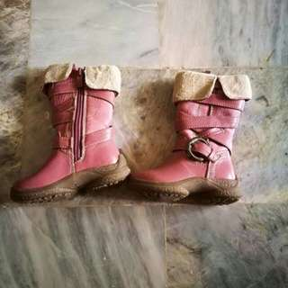 Pre-loved ❤ pink boots