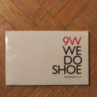 Nine west gift card $25