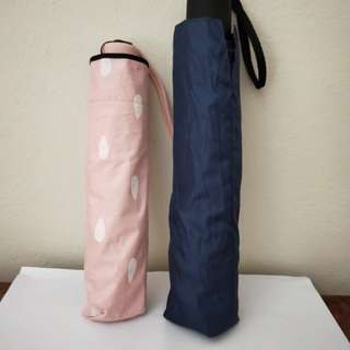 UV Protecting Umbrella (Pink and Blue)