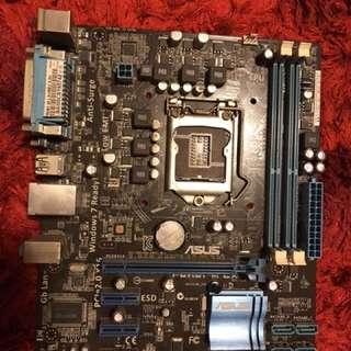 FAULTY Asus P8H61-M LX LGA1155 Motherboard DDR3
