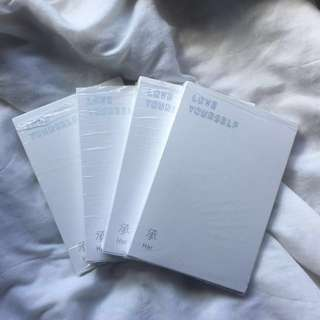 BTS LOVE YOURSELF ALBUM SET