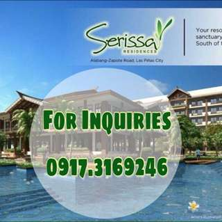 Serissa Residences in Las Pinas City (OLD PHILIPS)