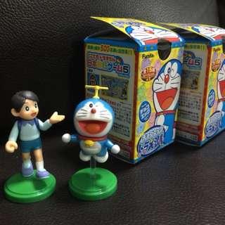Doraemon gashapon capsule kids toy mini display