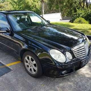 Mercedes e200 sunroof SG