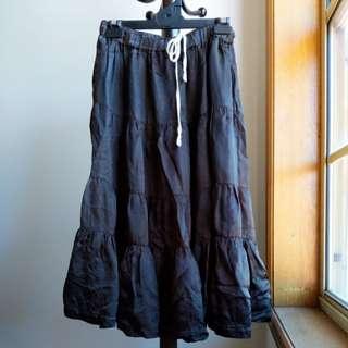 Commes des Garcons silk skirt