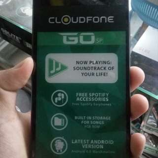 Cloudfone go sp