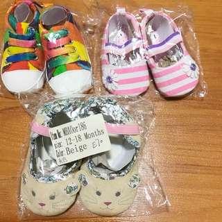 BNIB Pre-walker Baby Shoes