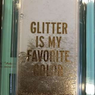 "Authethic Kate Spade Casing Iphone 7 Plus. "" Glitter"""