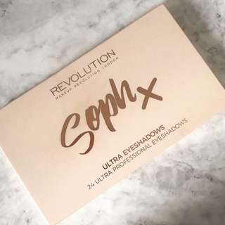 Soph x Makeup Revolution Palette