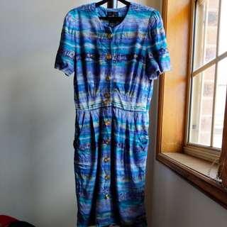 Retro/Vintage tshirt dress