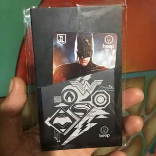 Beep Card Justice League Batman