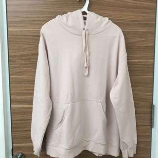 H&M pink soft hoodie