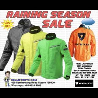 Revit Raincoat Rainy Season Promotion