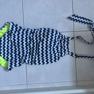 Seafolly Backless high neck swimsuit