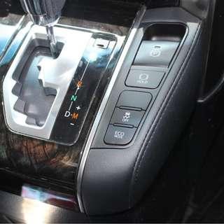 ★ Toyota Alphard Vellfire 30 Leather Instrument Panel Cover★