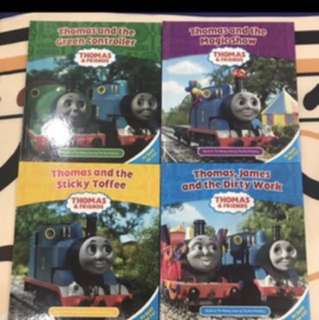 Like New Thomas And Friends English Story Book With Box Full Set X 4 Books.