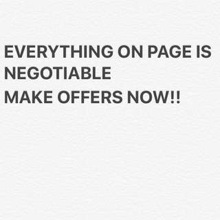 EVERYTHING NEGOTIABLE