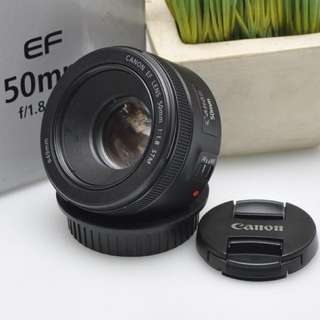 50mm f1.8 99%new