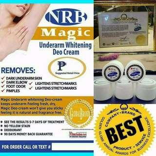 Wonder underarm whitening cream