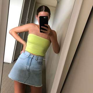 Green Sleeveless Top // Size Small