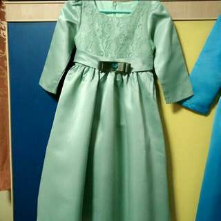 Princess Dress in green