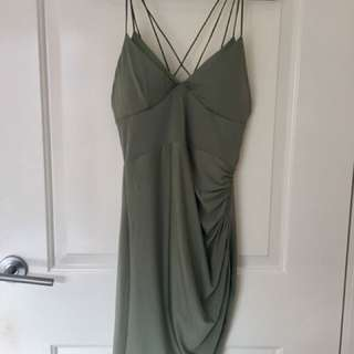 Brand new w/ Tags green mini/clubbing dress