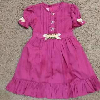 Lovely Lace Dress Pink