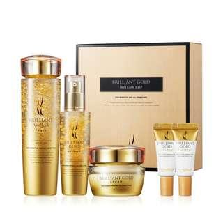 【AHC】Brilliant Gold Skin Care 3 Set 24k黄金套装