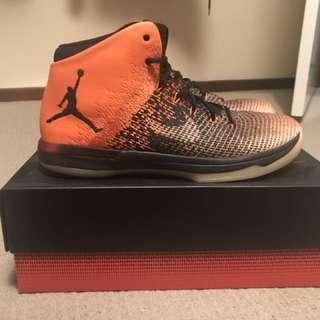 "Air Jordan 31 ""Shattered Backboard"" Size 11"