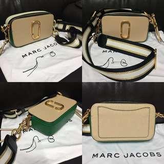 (真品)Marc Jacobs Snapshot 相機袋 2018春夏新色