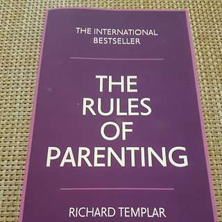 The Rules of Parenting- Richard Templar