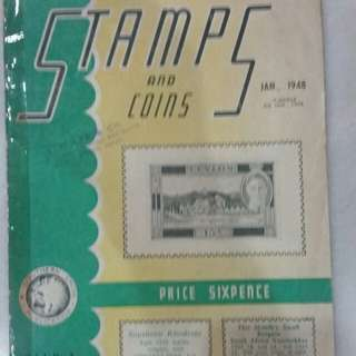 Jan 1948 Issue - Stamps and Coins Magazine