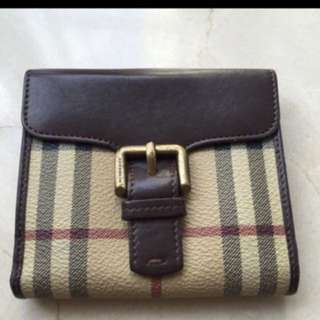 Burberry vintage wallet