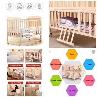 Baby Cot - Wooden