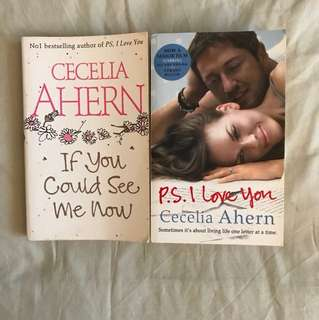 2 books by Cecelia Ahern